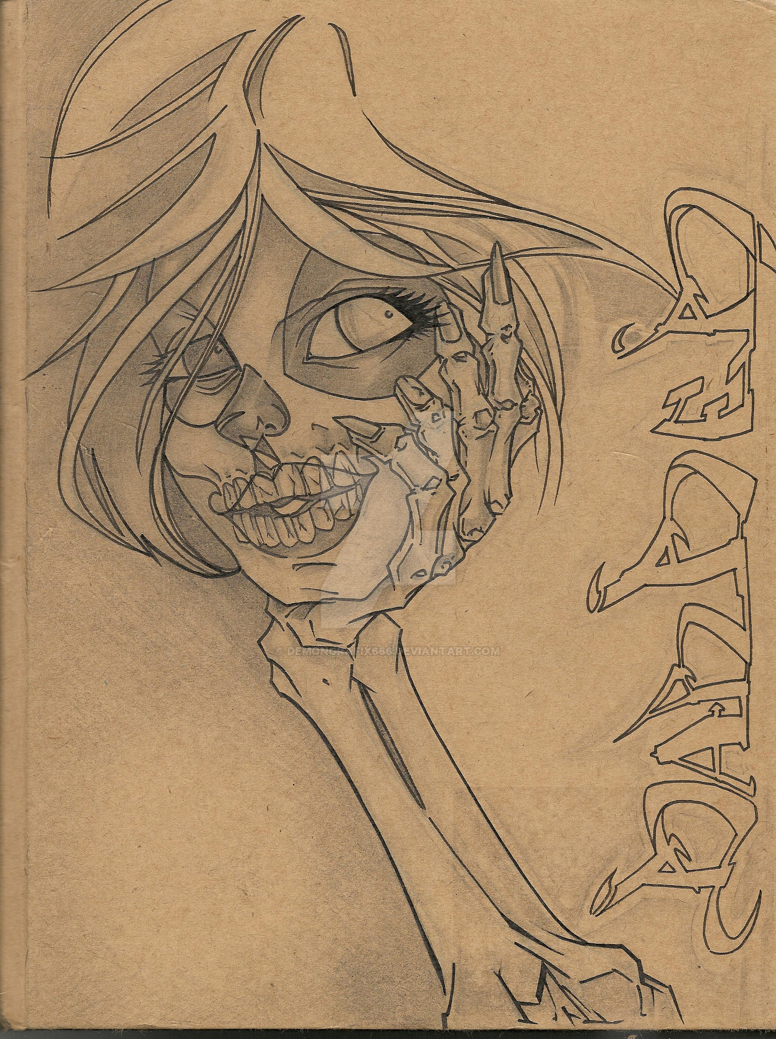 Book Cover Design Sketch : Sketch book cover by demongrafix on deviantart
