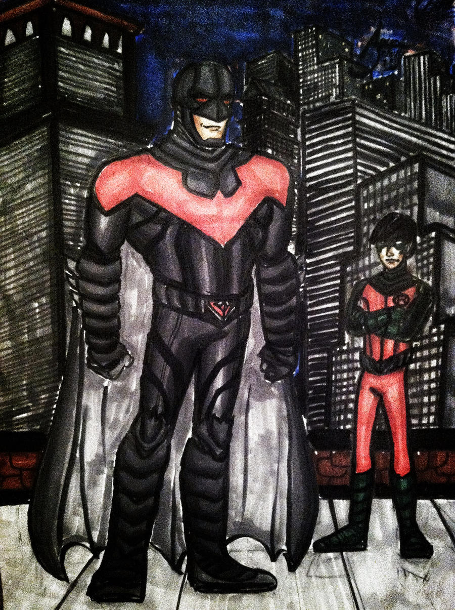 DC New 52, five years later - Nightwing and Robin by drwcomics on ...
