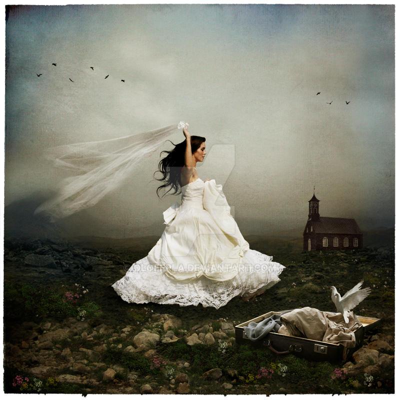 Never a bride by oloferla