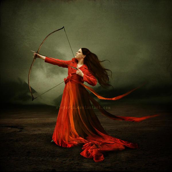 Lady of War by oloferla