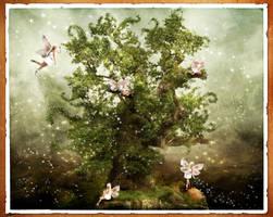 The fairy tree by oloferla