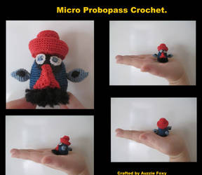 Micro Crotchet - Probopass by Auzzie-Foxy