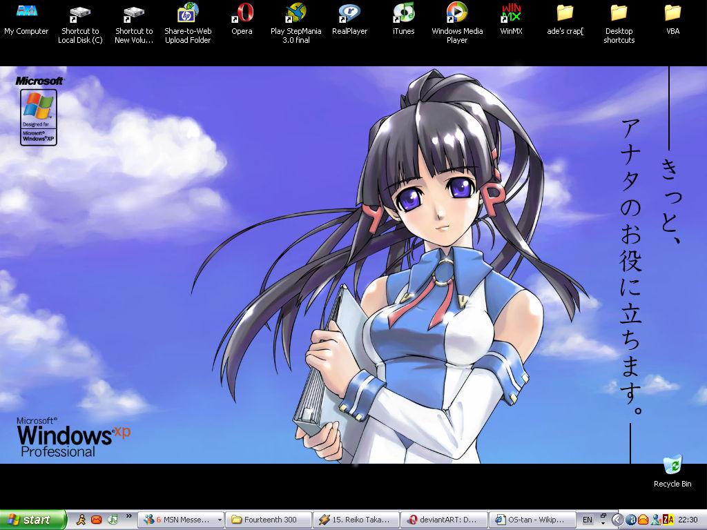 2Bad's desktop