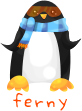 Cool Penguin by zara-leventhal