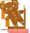 Gingerbread Bear by zara-leventhal
