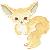Fennec Fox by zara-leventhal