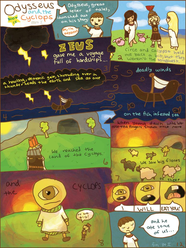 Odyssey Comic Book IX Part I by zara-leventhal