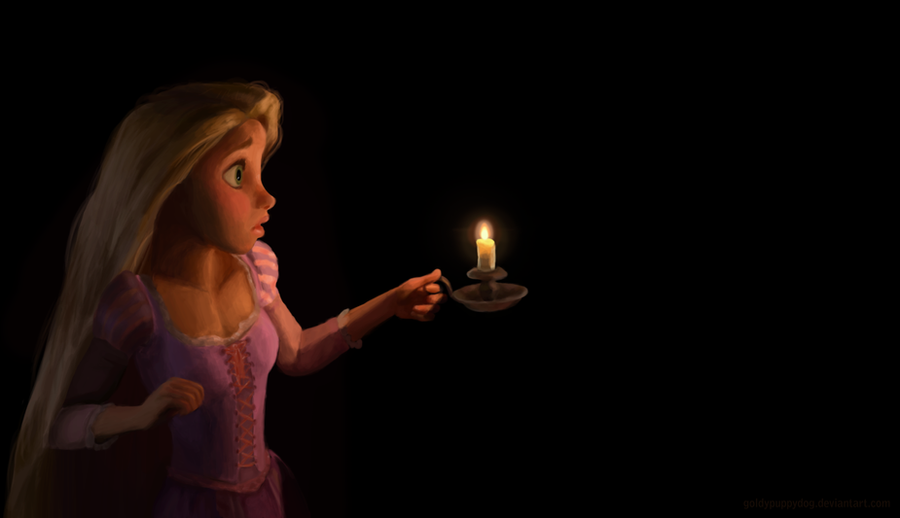 Tangled Wallpaper Christmas Gift by zara-leventhal