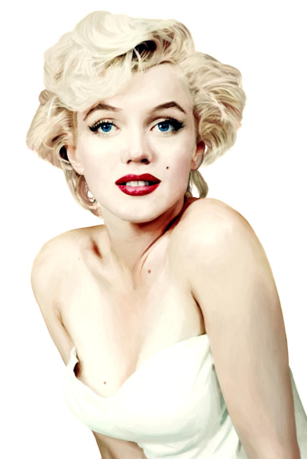 Marilyn Painting by zara-leventhal