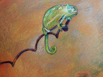 Chameleon by zara-leventhal