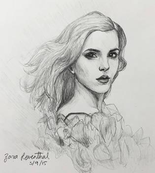 Emma Watson by zara-leventhal