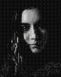 Texture Self Portrait by zara-leventhal