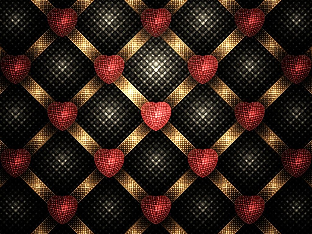 Heart Tiles by Cadmonia