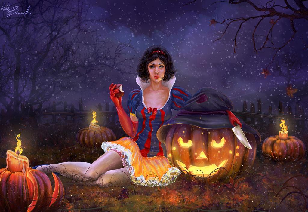 Halloween in the fairy world by Web-brunetka