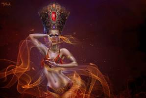 Dance of fire by Web-brunetka