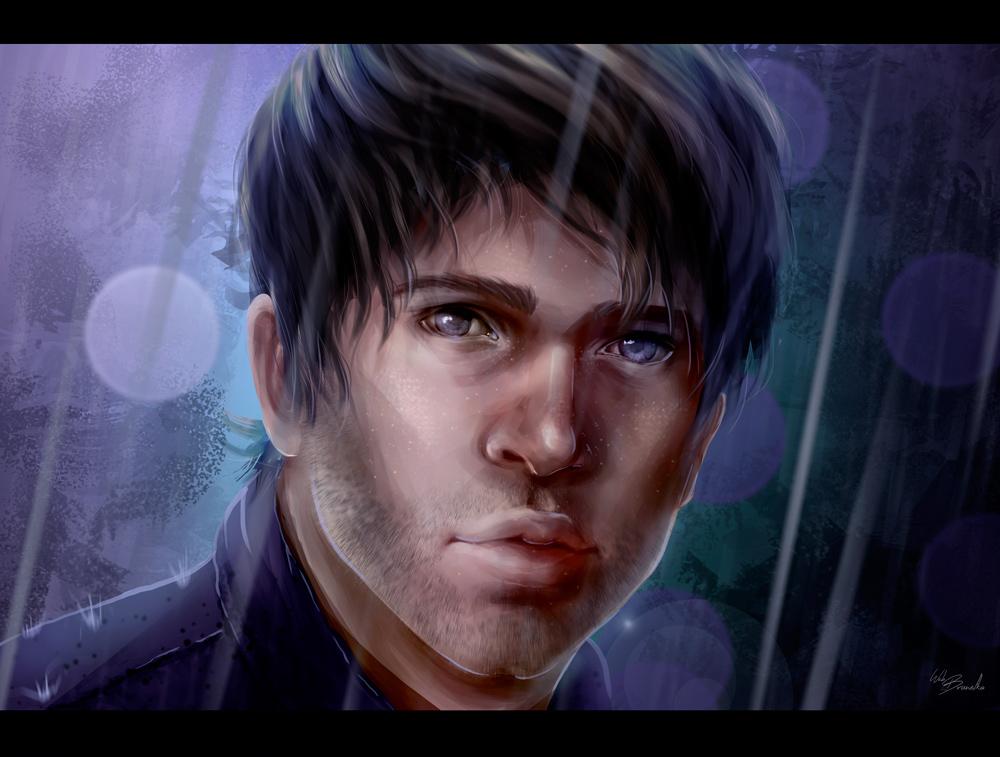 Rain by Web-brunetka