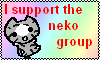 the neko group stamp by the-neko-group