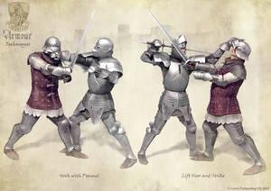 Armoured Combat Techniques