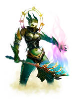 Orc shaman lineage 2 by llaiii