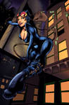 Catwoman: harpokrates and raven