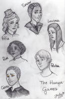 Hunger Games doodles