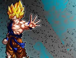 Super Saiyan Goku Edit