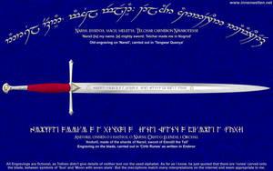 Anduril - Sword of Aragorn