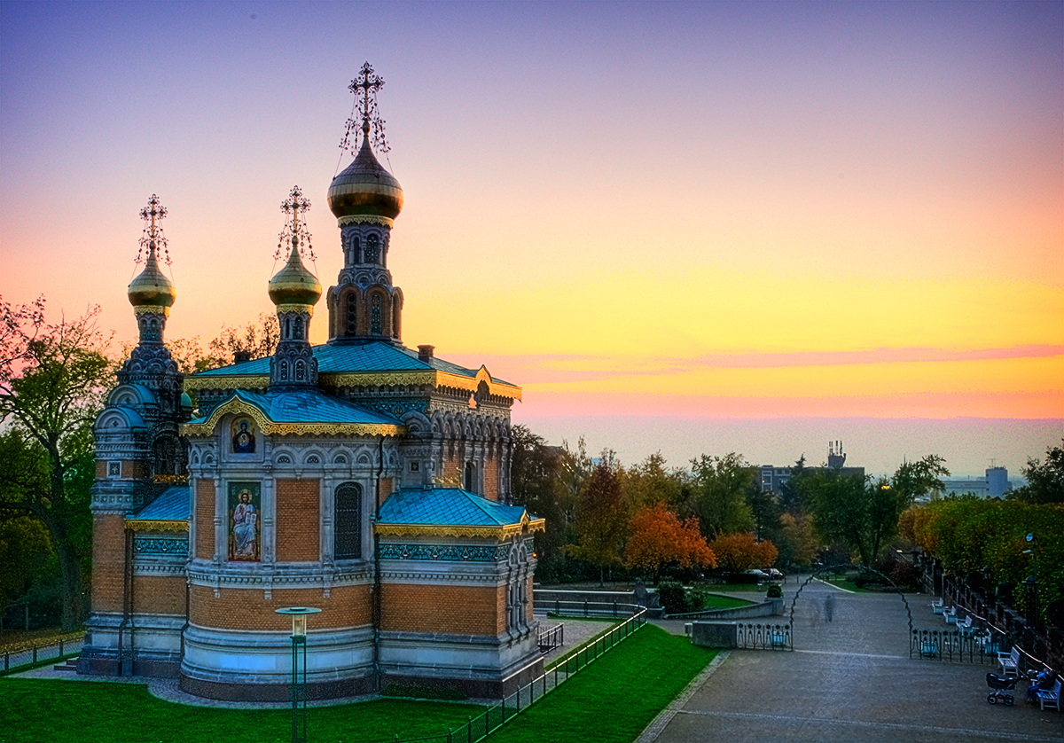 Russian Chapel - Darmstadt by mondspeer