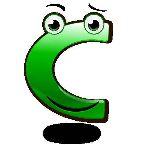 Smiley Alphabet - C