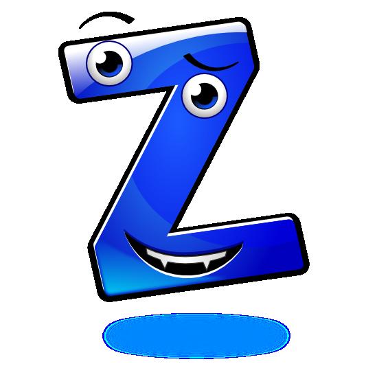 Smiley Alphabet - Z