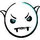 Vampire Smiley (emotee)