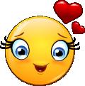 Famous Smileys: Love (emotee)