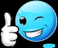 Famous Smileys: Thumbsup (emotee) by mondspeer