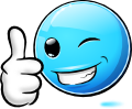 Famous Smileys: Thumbsup (emotee)