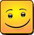 Square Smiley - Happy (emotee)