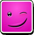 Square Smiley - Blink (emotee) by mondspeer