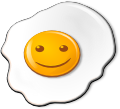Smiling Objects - Fried Egg (emotee) by mondspeer