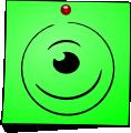 Post-It Smiley: Cyclopes (emotee) by mondspeer