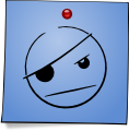 Post-It Smiley: Pirate (emotee) by mondspeer