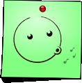 Post-It Smiley: Whistle (emotee) by mondspeer