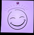 Post-It Smiley: The Saint (emotee) by mondspeer