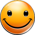 New Smiley: Happy (emotee) by mondspeer