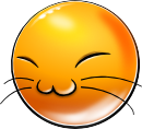 New Smiley: Happy Cat (emotee) by mondspeer