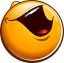 Just another laughing smiley emotee