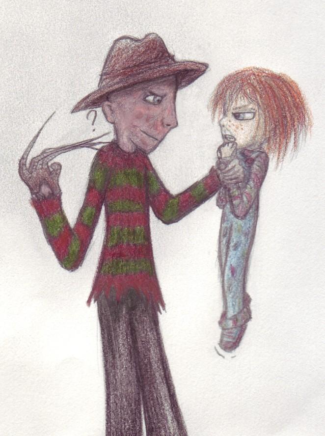 Freddy vs Chucky by Tugera