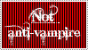 not anti-vamp stamp by Tugera