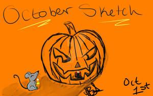 Halloween Sketch-tober!