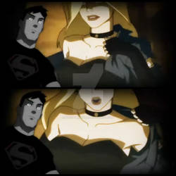 Young Justices Superboy x Black Canary