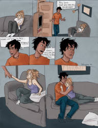 Percy and Annabeth Never Let Me Go