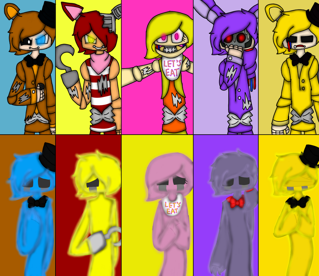 FNAF Extras 1 Wallpaper by HerrenLovesFNAF